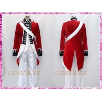コスプレ衣装 ヘタリア イギリス 独立戦争 ベロア生地