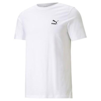 PUMA プーマ M CL GRAPHICS インフィル Tシャツ ショートスリーブ 599821 52WHITE/BLACK