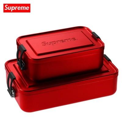 Supreme シュプリーム 2018年春夏 Supreme/SIGG Small & Large Metal Box Plus アルミコンテナ スモール&ラージセット