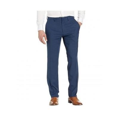 Kenneth Cole Reaction ケネスコール メンズ 男性用 ファッション パンツ ズボン Performance Tech Slim Fit Dress Pants - Blue