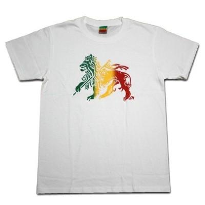 ラスタTシャツ RASTA LION WHT ホワイト bk063 ラスタ