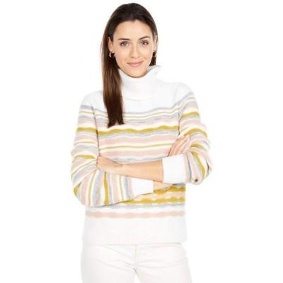 リラピー レディース ニット・セーター アウター Full Sleeve Multicolor Turtleneck Sweater