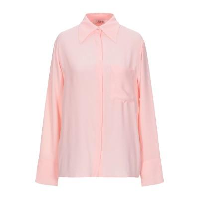 ジャッカ JUCCA シャツ ピンク 44 アセテート 69% / シルク 31% シャツ