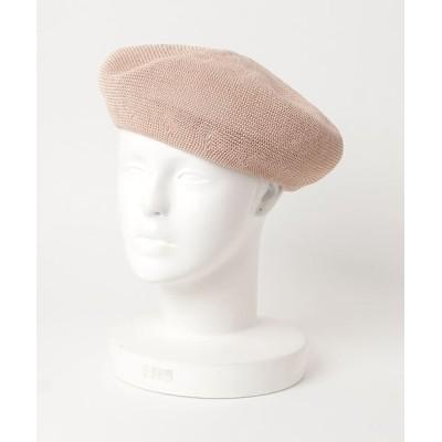 JUGLANS / シンプル ペーパー サーモベレー WOMEN 帽子 > ハンチング/ベレー帽