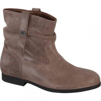 ビルケンシュトック Birkenstock レディース ブーツ シューズ・靴 Sarnia Boot Mud Brown/Waxed Suede
