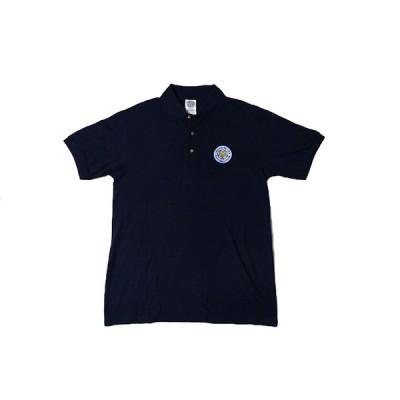 ポロシャツ レスター シティ Leicester City クラブロゴ ワンポイント 在庫わずか 半袖 ネイビー サイズ(M、L) 正規品 サッカー 輸入 岡崎慎司