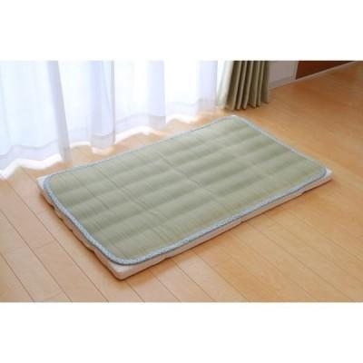 純国産 やわらかい草の敷きパッド ベビーキルト 70×120cm (中綿入り)