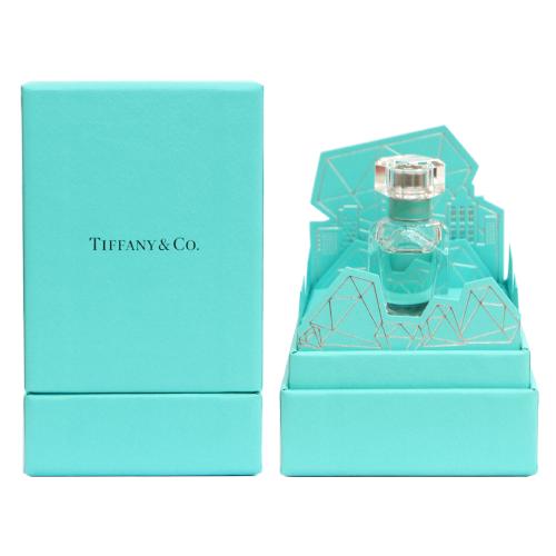 Tiffany & co. 同名女性淡香精-鑽形紙雕盒裝隨行香氛
