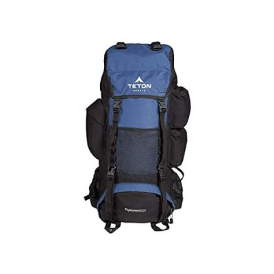 TETON Sports Explorer 4000 Internal Frame Backpack; High-Performance Backpa