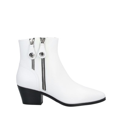 リュー ジョー LIU •JO ショートブーツ ホワイト 41 革 ショートブーツ