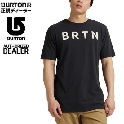 バートン ティーシャツ 半袖 BRTN Short Sleeve/TRUE BLACK 日本正規品 BURTON Tシャツ