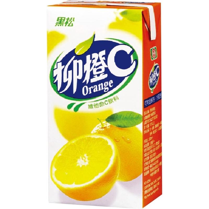 黑松柳橙C/TP300ml