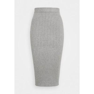グラマラス レディース スカート ボトムス Pencil skirt - grey grey