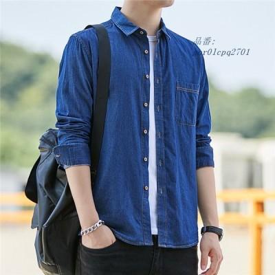 ブラウス 春 オシャレ 40代 長袖 30代 大きいサイズ メンズ シャツ トップス カウボーイ Tシャツ