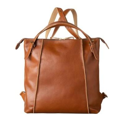 [イマイバッグ] GENOVA ジェノバ 日本製 牛革 リュック 大人 本革 大容量 リュックサック 手提げ バッグ 2way 軽量 国産 A4 シンプル エレガント おしゃれ カジ