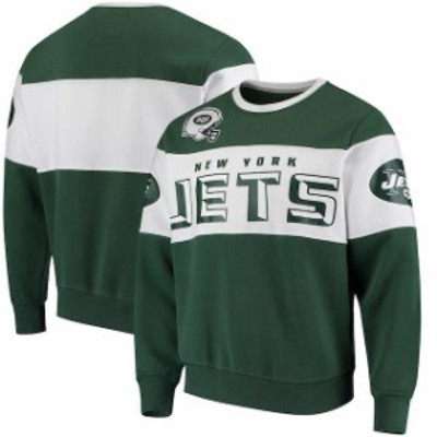 G-III Extreme ジースリー エクストリーム 服 スウェット G-III Extreme New York Jets Green Wildcat Crew Sweater