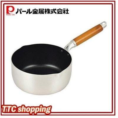 パール金属 雪平鍋 18cm IH対応 アルミ フッ素加工 行平鍋 ファントゥメイク HB-2927