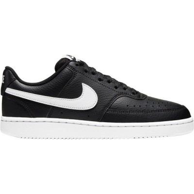 ナイキ スニーカー シューズ レディース Nike Women's Court Vision Low Shoes Black/White