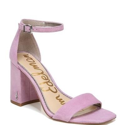 サムエデルマン レディース サンダル シューズ Daniella Suede Block Heel Square Toe Dress Sandals