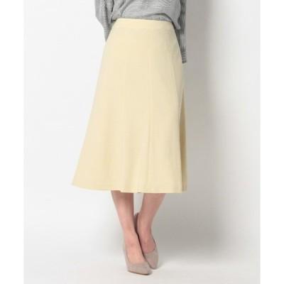 スカート 【M~5L】裾フレア スカート