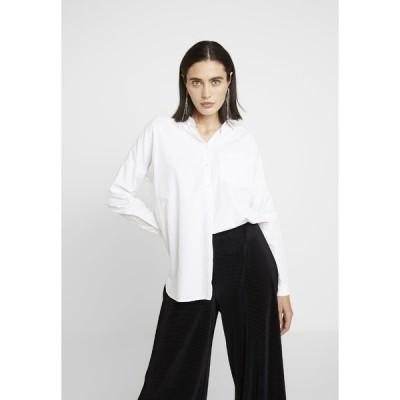 エム バイ エム シャツ レディース トップス TIKKI - Button-down blouse - white