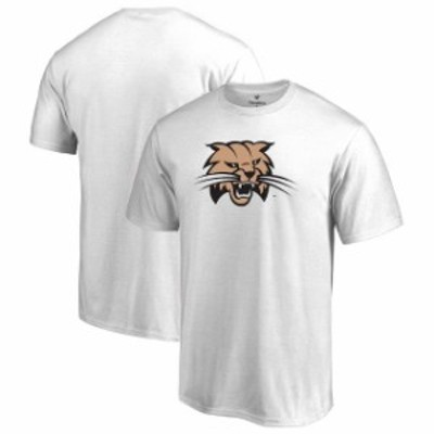 Fanatics Branded ファナティクス ブランド スポーツ用品  Ohio Bobcats White Big & Tall Primary Logo T-Shirt