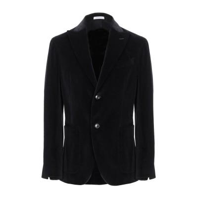 ボリオリ BOGLIOLI テーラードジャケット ブラック 46 コットン 98% / ポリウレタン 2% テーラードジャケット