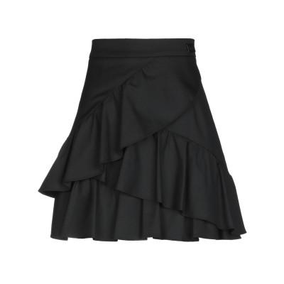 BE BLUMARINE ミニスカート ブラック 44 ポリエステル 64% / レーヨン 35% / ポリウレタン 1% ミニスカート