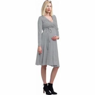 ノム NOM Maternity レディース ワンピース マタニティウェア ラップドレス ワンピース・ドレス Tessa Maternity + Nursing Wrap Dress B