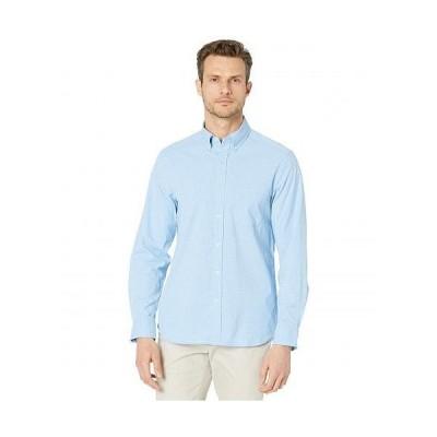 Vineyard Vines バインヤード・バインズ メンズ 男性用 ファッション ボタンシャツ Classic Gingham OTG Performance Shirt - Maui Blue