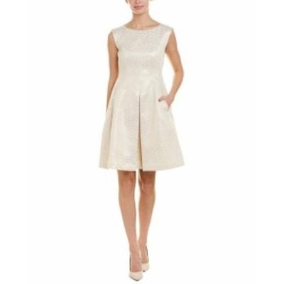 Anne Klein アンクライン ファッション ドレス Anne Klein A-Line Dress 8 Gold