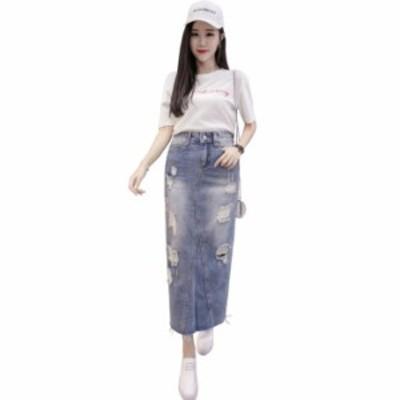 S-XXL スカート フレア タイトスカート フォーマル 大きいサイズ ミディアム丈 ミモレ丈 タイトスカート マーメイドラインスカート