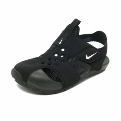 スニーカー ナイキ NIKE サンレイプロテクト2PS ブラック/ホワイト キッズ シューズ 靴 19SU