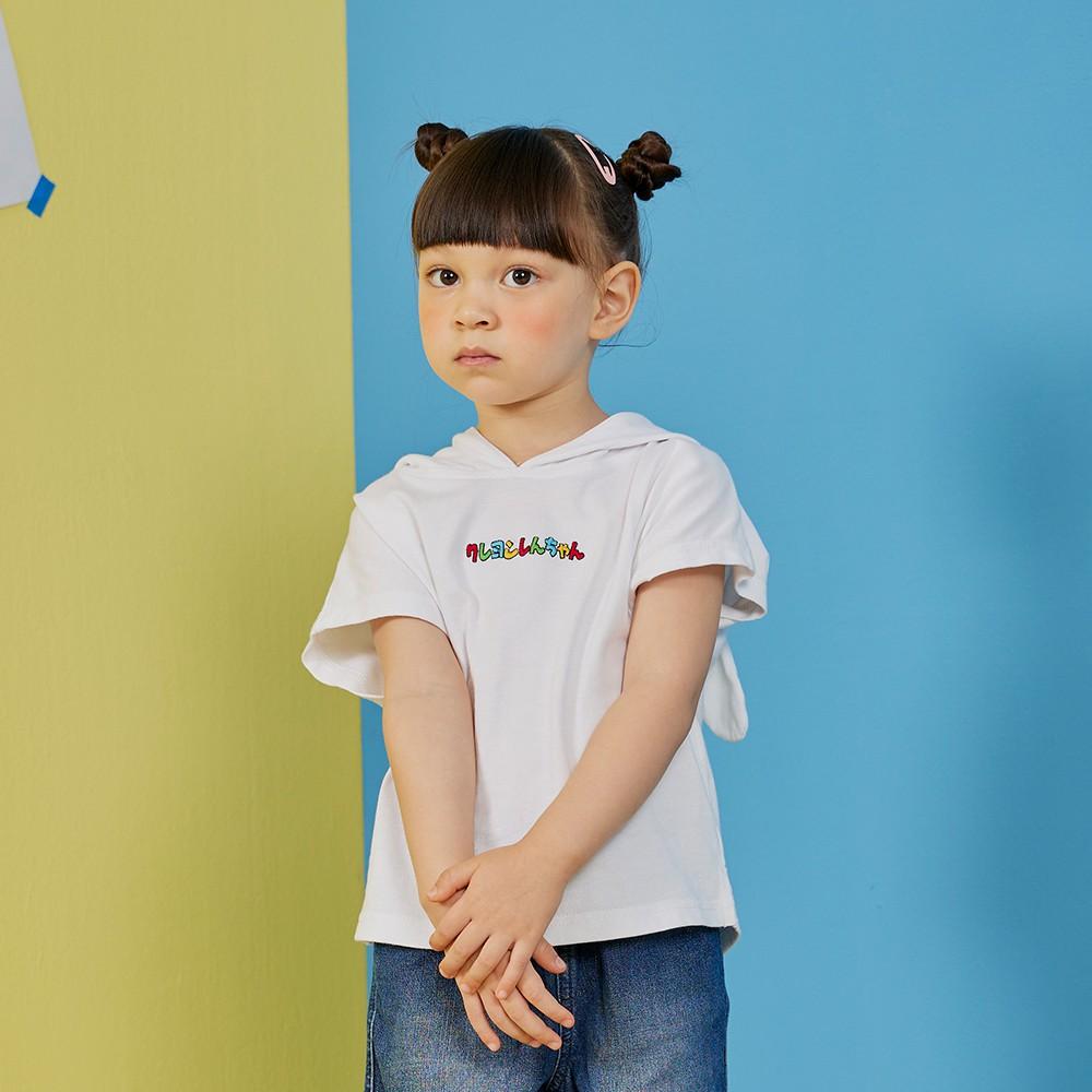 CACO-MIT 小白大臉帽T‧親子款-童【B3SC008】