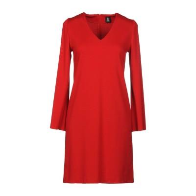 1-ONE ミニワンピース&ドレス レッド 40 レーヨン 69% / ナイロン 25% / ポリウレタン 6% ミニワンピース&ドレス