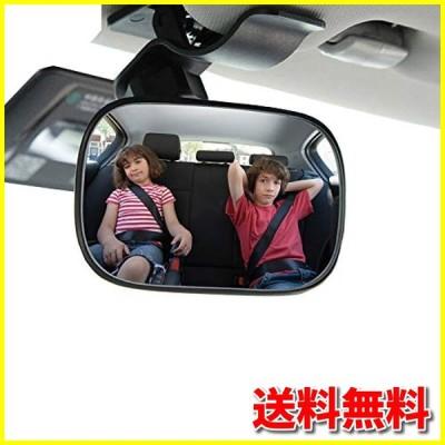 車用 ベビーミラー インサイトミラー 越しで後部座席の様子がすぐ分かる 360度調節 補助ミラー