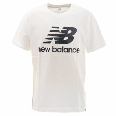 ニューバランス(new balance)Tシャツ メンズ エッセンシャルズスタックドロゴショートスリーブ Tシャツ MT015…