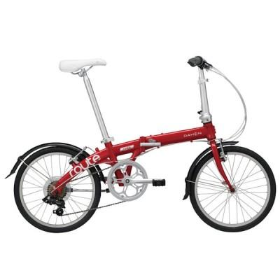 ダホン ルート (ルビーレッド) 2021 DAHON Route 折りたたみ自転車 20インチ フォールディングバイク