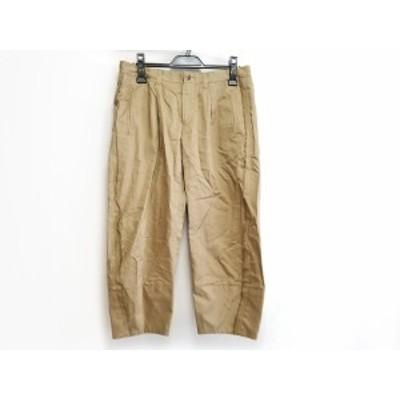 ドゥロワー Drawer パンツ サイズ36 S レディース - ライトブラウン クロップド(半端丈)【還元祭対象】【中古】20200801