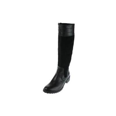 ティンバーランド ブーツ 靴 Timberland 6572 レディース Bethel Heights ブラック ニーハイ ブーツ 9 ミディアム (B,M) BHFO