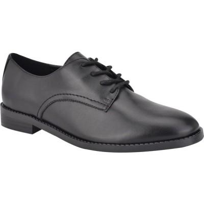ナインウエスト NINE WEST レディース ローファー・オックスフォード シューズ・靴 Maia Oxford Flat Black