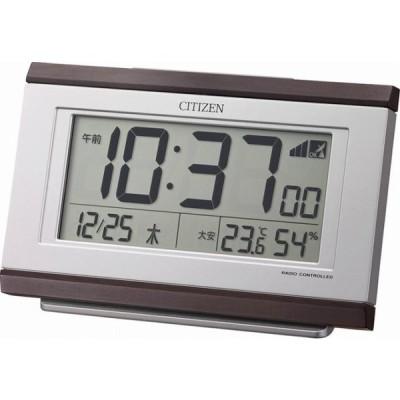 【粗品 記念品】 シチズン 電波めざまし時計 [名入れ別途お見積もり]  卸売り/卒業に!