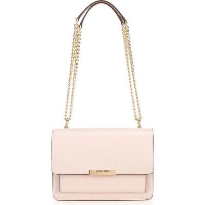 マイケル コース Michael Kors レディース ショルダーバッグ バッグ MICHAEL Large Gusset Snap Chain Shoulder Bag Soft Pink