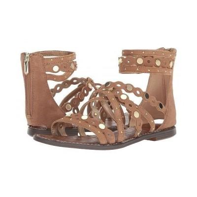 Sam Edelman サムエデルマン レディース 女性用 シューズ 靴 サンダル Geren - Golden Caramel Suede Leather