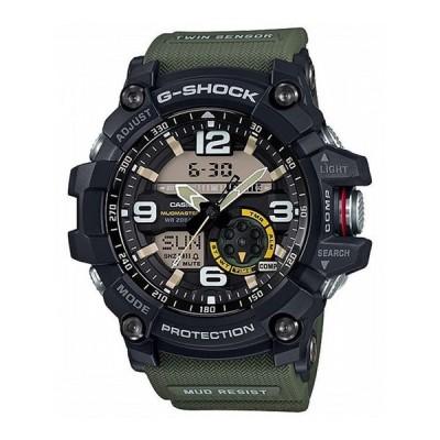 国内正規品 G-SHOCK GショックGG-1000-1A3JF カシオ CASIO ジーショック メンズ アナログ ブラック グリーンベルト 20気圧防水 無機ガラス