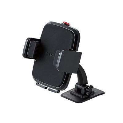 エレコム ELECOM 車載スマホスタンド テープ貼付タイプ ブラック P-CARS01BK