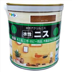 日本製水性木器著色清漆0.7L-透明