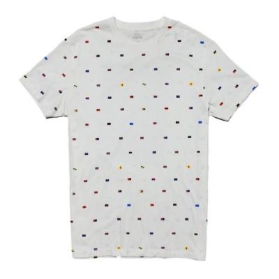 ジェイクルー J.Crew 半袖Tシャツ Slim Nautical Flags T-shirt ホワイト White