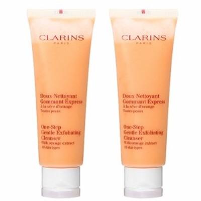 【セット】クラランス CLARINS ワンステップ エクスフォリエイティング クレンザー 125g 2個セット