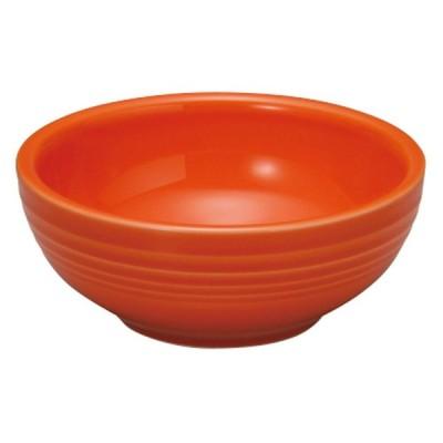 洋陶オープン 洋食器 / オービット マンダリンオレンジ13.5cmボール 寸法: 13.7 x 5.5cm
